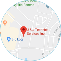J and J Technical Services Address Map