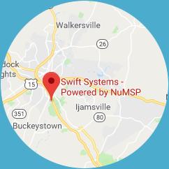 Swift System Map Location