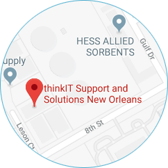 Think IT Solutions Map Location